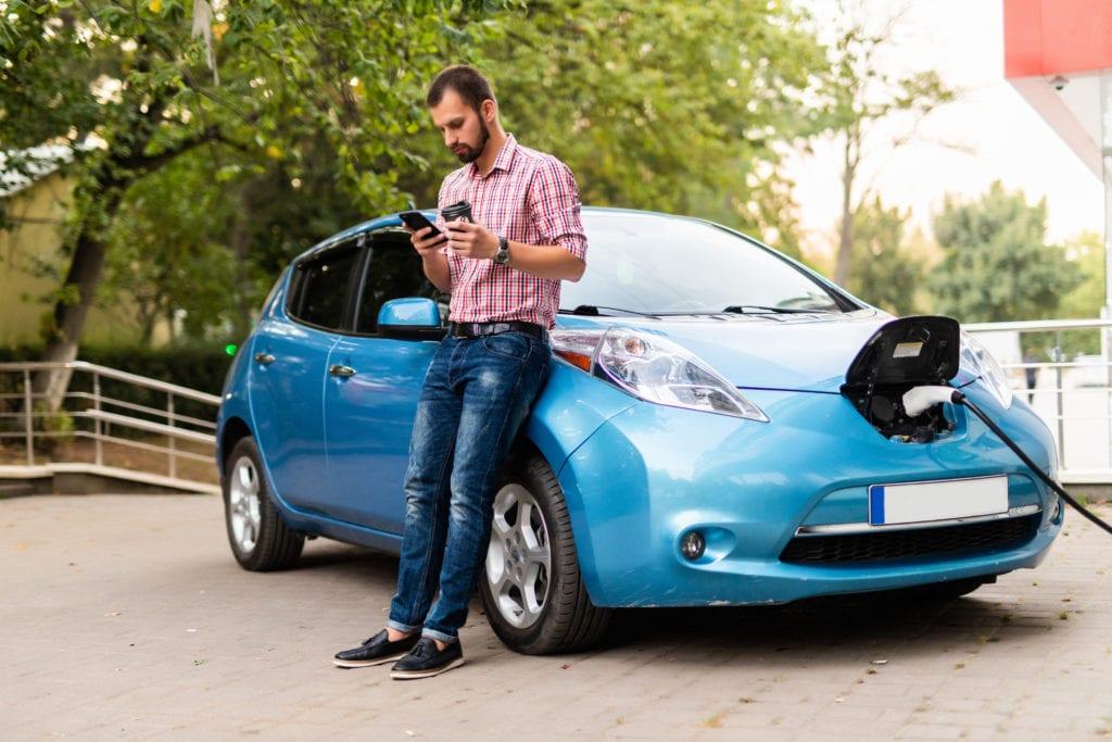 energía inteligente vehículos eléctricos