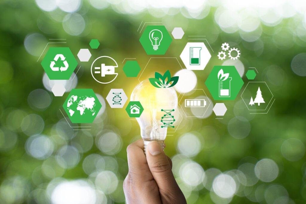 energía verde y renovable